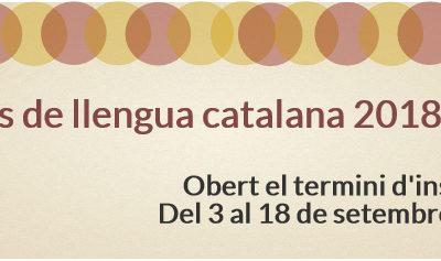 Inscripcions cursos de català 2018-2019