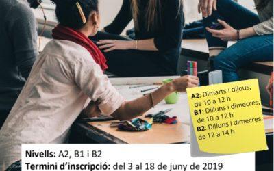 Taller de conversa de llengua catalana Estiu 2019
