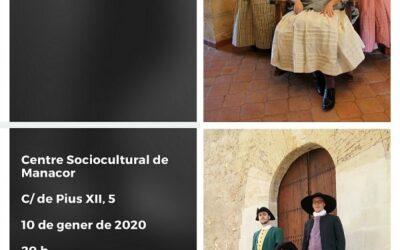 Mostra d'indumentària dels s. XVIII i XIX