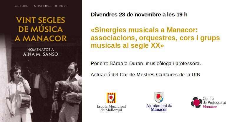Vint segles de música a Manacor