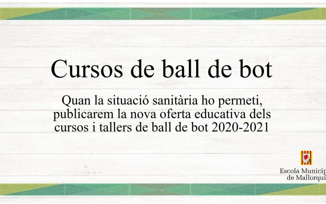 Matrícules cursos de ball de bot 2020-2021