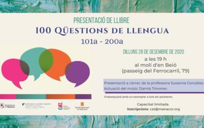 100 QÜESTIONS DE LLENGUA (101a-200a)