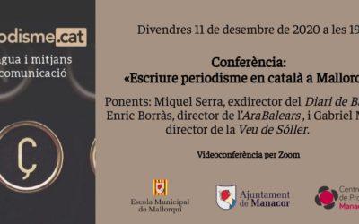 Escriure periodisme en català a Mallorca