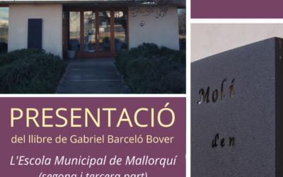 Presentació del llibre de Gabriel Barceló Bover