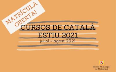 Matrícula cursos de català oberta